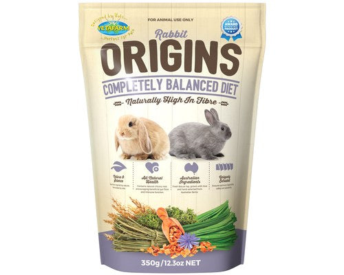VETAFARM RABBIT ORIGINS 350G