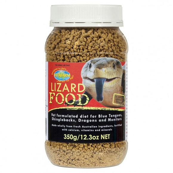HERPVET LIZARD FOOD 350GM