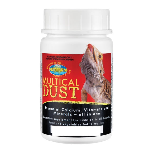 HERPVET MULTICAL DUST 150GM