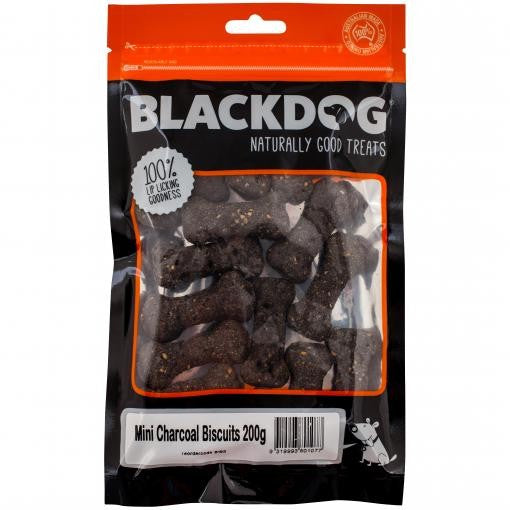 MINI CHARCOAL BISCUITS 200GMS