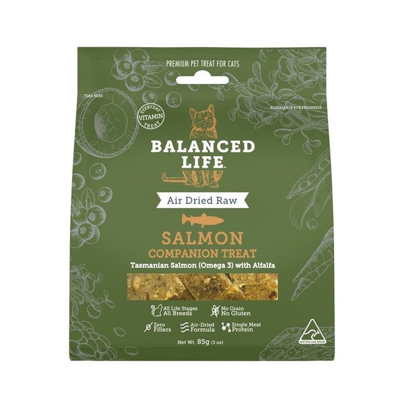 BALANCED LIFE CAT TREAT SALMON 85G