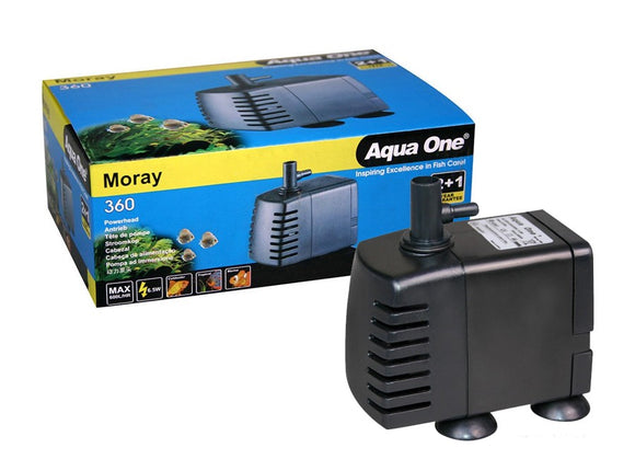 AQUA ONE MORAY 360 600L/H PUMP