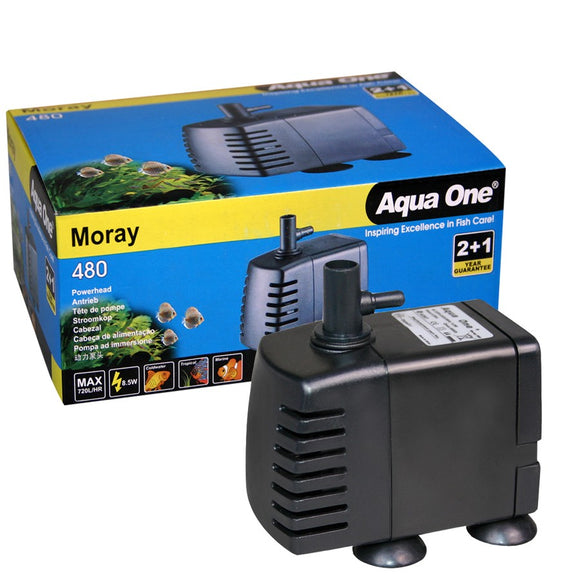 AQUA ONE MORAY 480 720L/H PUMP