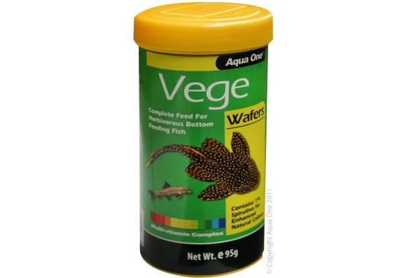AQUA ONE VEGE WAFERS - 95G