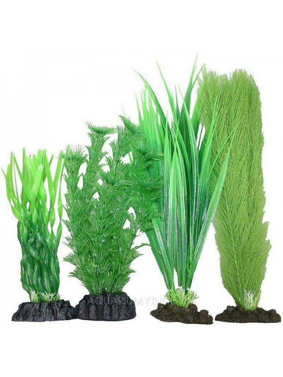 A/1 PLASTIC PLANTS 4PK MIX4