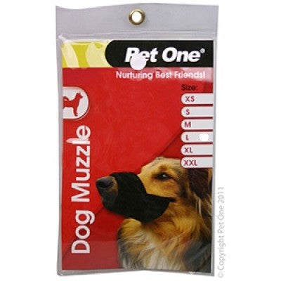 PETONE MUZZLE NYLON SMALL BLACK