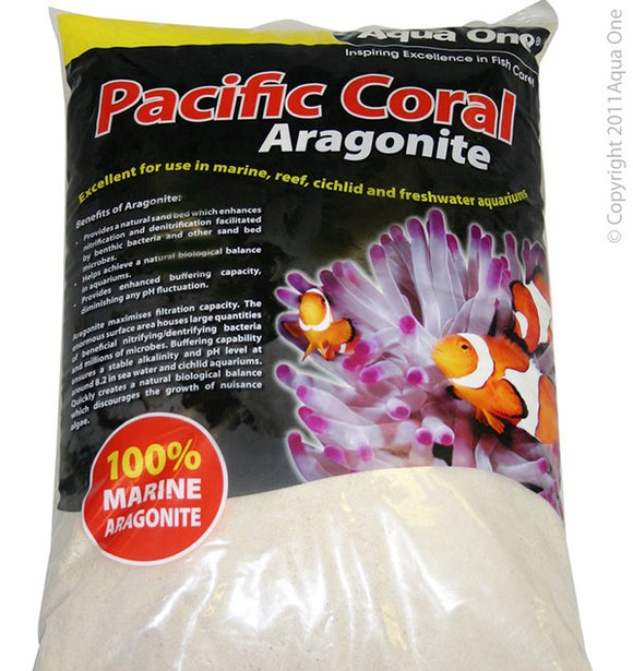 AQUA ONE CORAL SAND PACIFIC 10KG