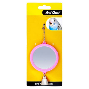 'AVI ONE SMALL PINK MIRROR\