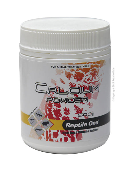 REPTILE ONE CALCIUM POWDER REPTILE 500GM