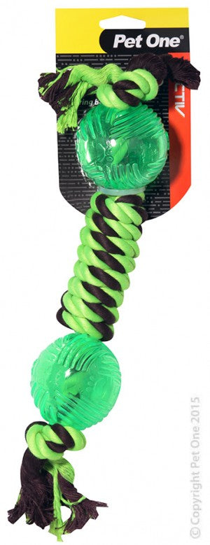 ACTIV ROPE W/DUMBELL TPR 36CM