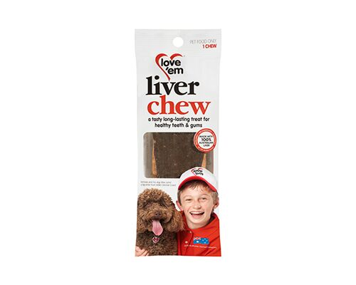 LOVE EM LIVER CHEW SINGLE