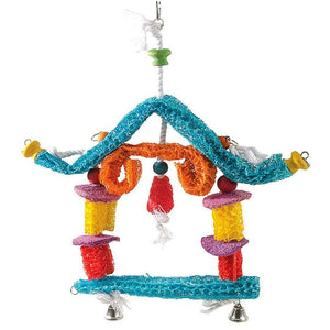 BIRD LOOFAH HOUSE 17""