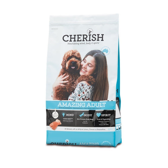 CHERISH DOG AMAZING ADULT 15KG