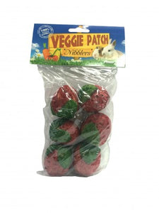 VEGGIE PATCH NIBBLERS STRAWBERRYS PACK OF 6