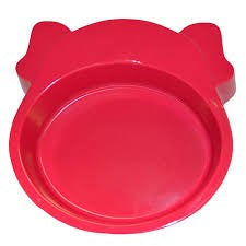 SCREAM DOG FACE BOWL 350ML PINK