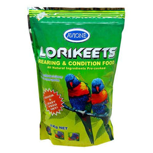 LORIKEETS REARING & CONDITION FOOD