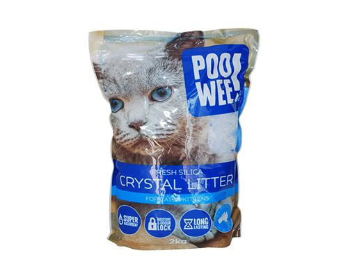 CRYSTAL CAT LITTER 2KG