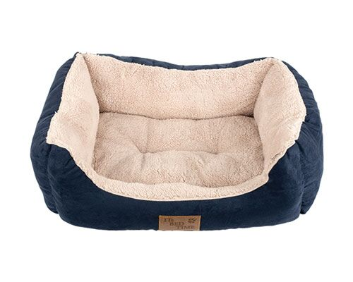 BED IBT PLUSH DOZER RECT BLUE SMALL