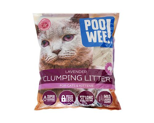 LITTER F/C CLUMPING LAV 15KG