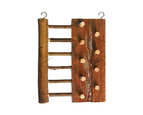 NATURAL WOOD CLIMBING BOARD