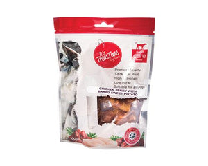 I.T.T. DOG CHICKEN BAKED SWEET POTATO 100G