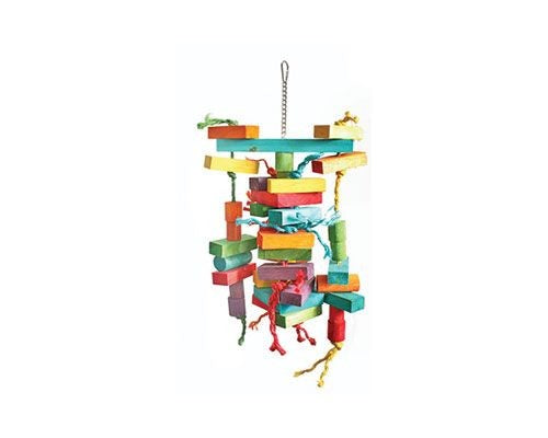 BIRD TOY- BIG CUBE ROPE