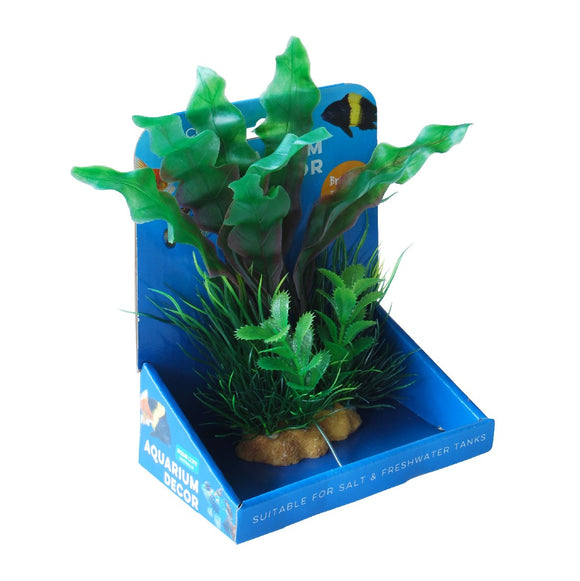 PLANT A/DECOR RESIN BASE 20CM #012