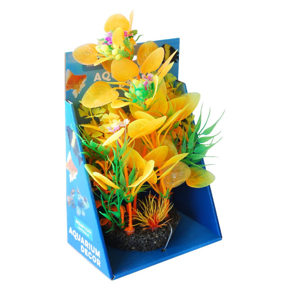 PLANT A/DECOR RESIN BASE 22CM #013