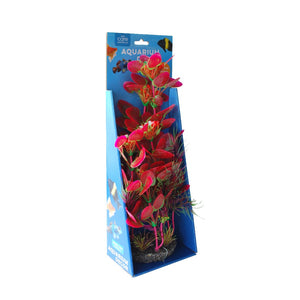 PLANT A/DECOR RESIN BASE 35CM #023