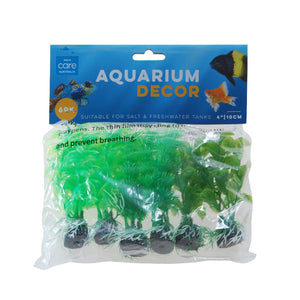 PLANT PACK GREEN COLOUR SMALL 6PK