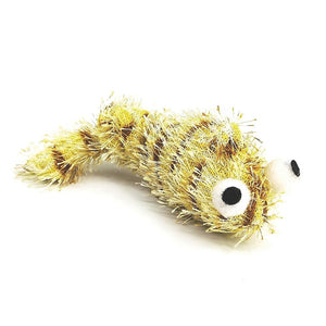 C/TOY WORM VIBRATE BROWN