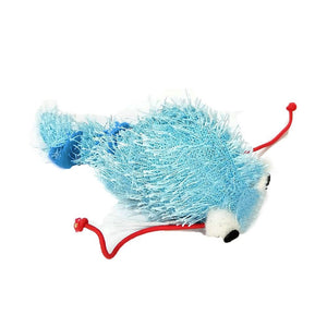 C/TOY WORM VIBRATE BLUE