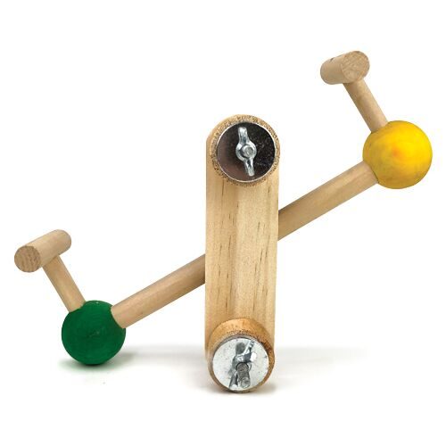 B/TOY WOODEN SEESAW