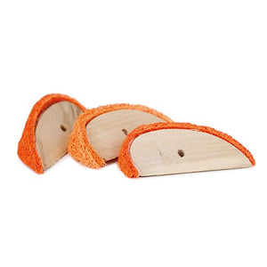 P/SQUEAK ORANGE WOOD SLICES