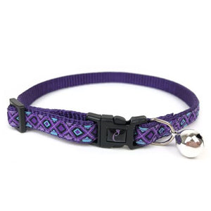 COLLAR CATTTITUDE RIBBON LILAC