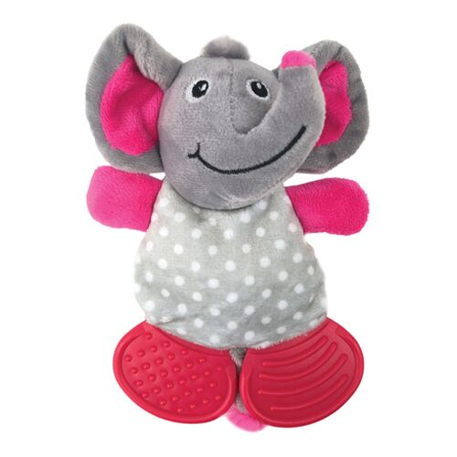D/TOY S/FRIENDS PUPPY PLUSH ELEPHANT CHEW
