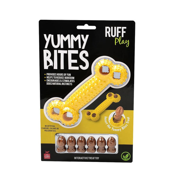 D/TOY R/PLAY YUMMY BITES YELLOW BONE
