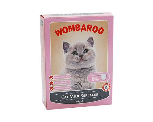 WOMBAROO CAT MILK 215G / 1L
