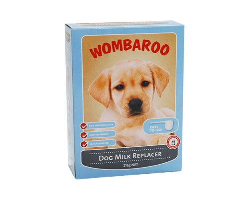 WOMBAROO DOG MILK REPLACE - 215GR