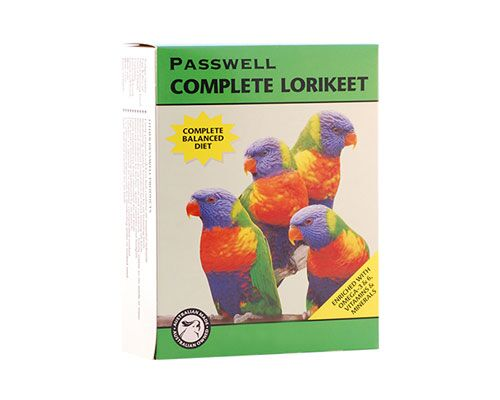 LORIKEET DRY FOOD - 500GM