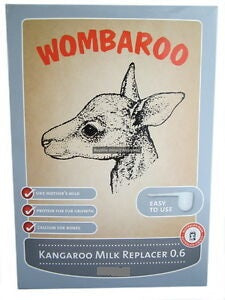 WOMBAROO KANGAROO MILK REPLACER 250G