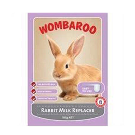 WOMBAROO RABBIT MILK REPLACER 180G