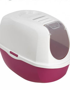 HOODED LITTER TRAY PINK