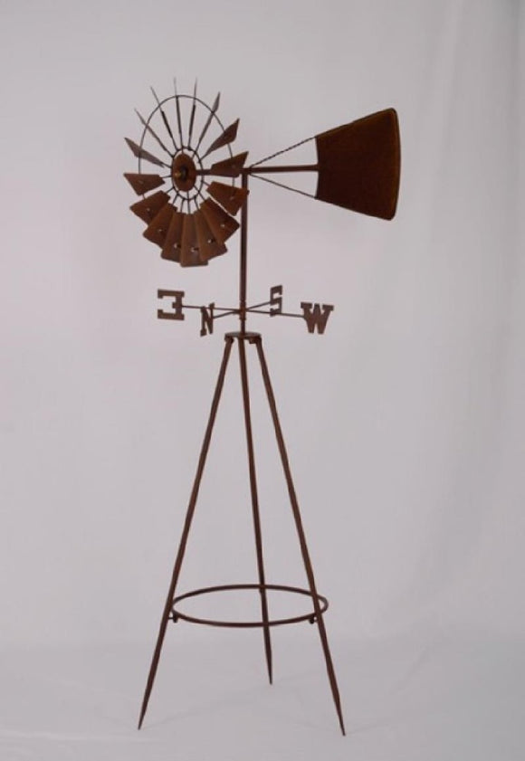 WINDMILL WEATHER VANE