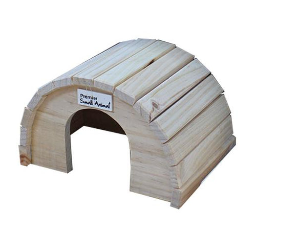 ROUND TIMBER HOME MED 16X15X8CM