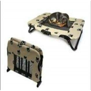 RAISED PORTABLE FOLD AWAY PET BED