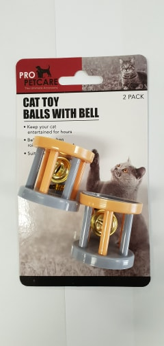 2PK CAT PLAYING CAGE WITH BELL