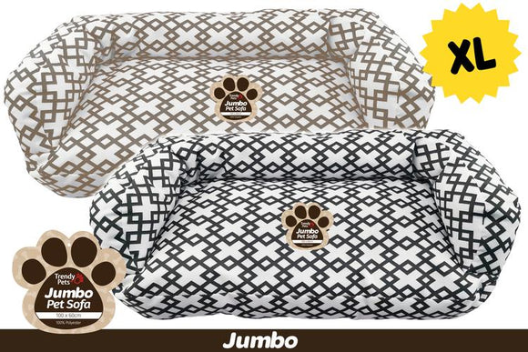JUMBO PET SOFA 100X60X35CM XL