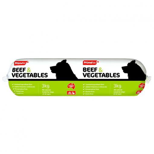 PRIME 100 BEEF AND VEG 3KG