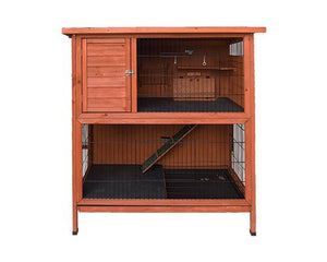 DOUBLE STORY HUTCH